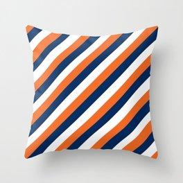 Go Broncos! Throw Pillow
