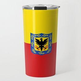 Flag of Bogota Travel Mug