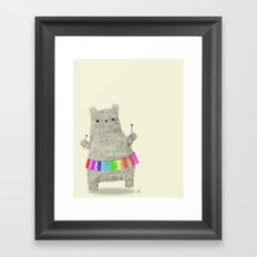 XyloBear  Framed Art Print