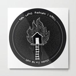 My tree house is on fire Metal Print