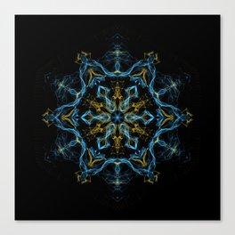 Consciousness Revolution Mandala Canvas Print