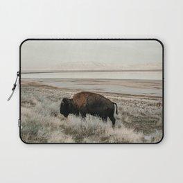 Bison of Antelope ISland Laptop Sleeve