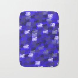 Blue Rush Bath Mat