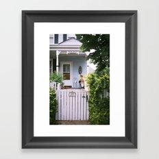 Fordham St Framed Art Print