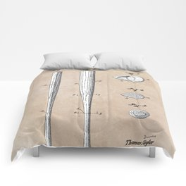 patent Taylor Streamlined baseball bat or the like 1938 Comforters