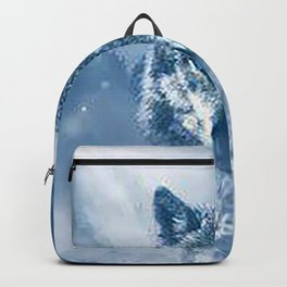 Snow Wolf Backpack