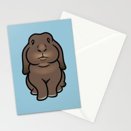 Coco the Minilop Bunny Stationery Cards
