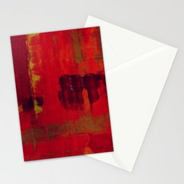 Red Painting Stationery Cards