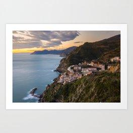Corniglia - 5 Terre - Liguria - Italy Art Print