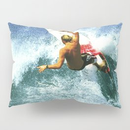 "Surfing ""Rocky Pt. Ripper"" Pillow Sham"