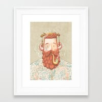 music Framed Art Prints featuring Music by Seaside Spirit