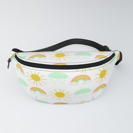 Spring Showers Fanny Pack