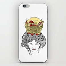 The Queen of Montreal iPhone & iPod Skin