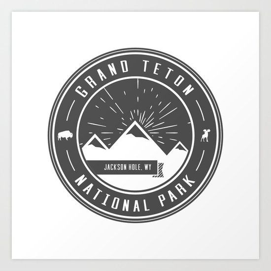Grand Teton National Park by mapmaker