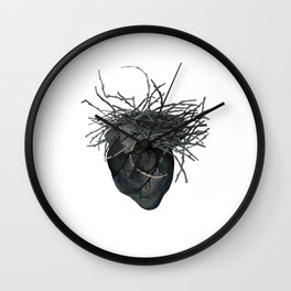 The Crow Wall Clock