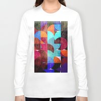 grafitti Long Sleeve T-shirts featuring Retro colorful by LoRo  Art & Pictures