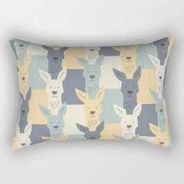 Kangaroos Rectangular Pillow