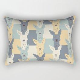 Kangaroos Rectangular Pillow