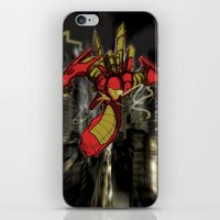 iron maiden iPhone & iPod Skins featuring iRon by wOlly