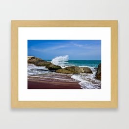 Beaches of Sri Lanka Framed Art Print