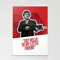 scarface Stationery Cards featuring Badass 80's Action Movie Quotes - Scarface by Casa del Kables