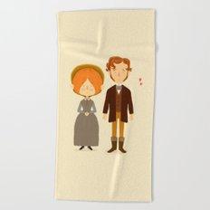 Jane Eyre Beach Towel