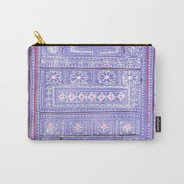 Hmong textile watercolor Carry-All Pouch