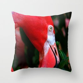A Delicate Shade of Power Throw Pillow