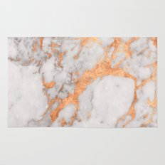 Copper Marble Rug