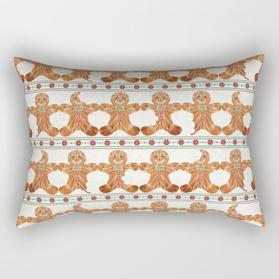 gingerbread man Rectangular Pillow