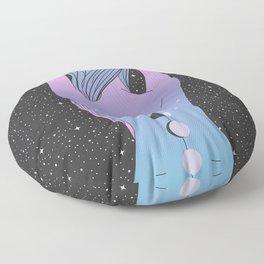 The Moon Tattoo Floor Pillow