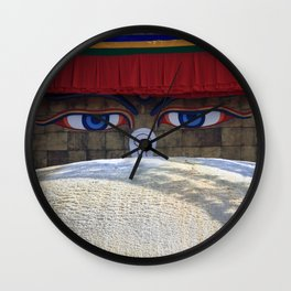Bodnath Wall Clock