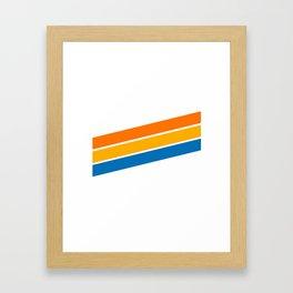 Y2K Framed Art Print