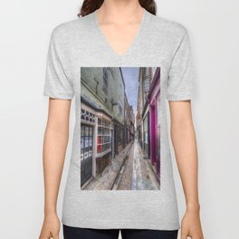 The Shambles Street York Unisex V-Neck