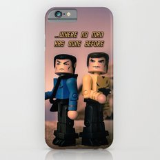...Where no man has gone bofore iPhone 6s Slim Case