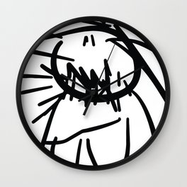 My mom is not ugly ! Collection Wall Clock