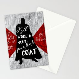 Kell's Peculiar Coat - A Darker Shade of Magic Stationery Cards