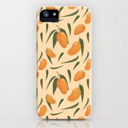 Mango Madness iPhone Case