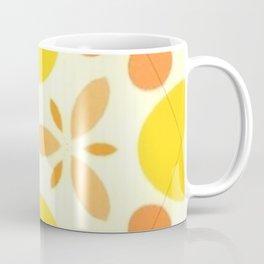 Happiness Mid-Century Pattern Coffee Mug