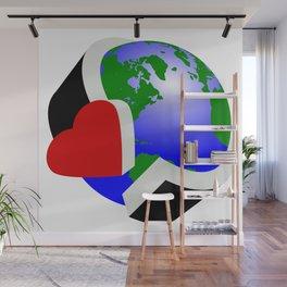 Earth Day Wall Mural