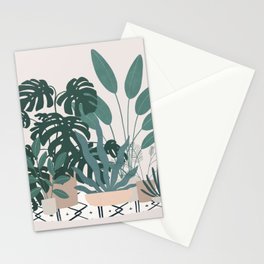 houseplant gang Stationery Cards