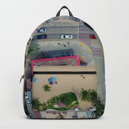 beach house street Backpack