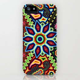 HUICHOL #1 iPhone Case