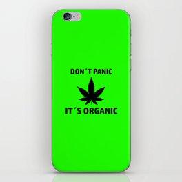 THC Cannabis smoke weed gift idea iPhone Skin