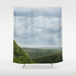 Free As A Bird Shower Curtain