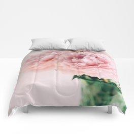 Blush Peonies Comforters