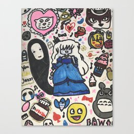 Pop Swag Too Canvas Print