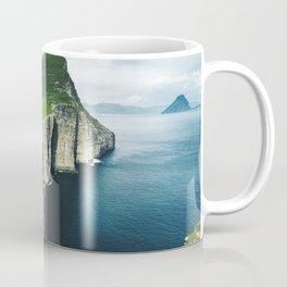 on top of faroe islands Coffee Mug