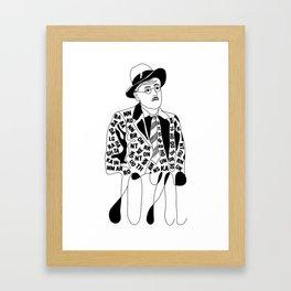 James Thunder Joyce Framed Art Print