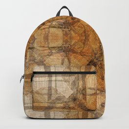 SUMMER WOODPILE ORCAS ISLAND PACIFIC NORTHWEST Backpack